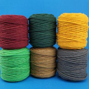 Cuerdas de algodón para macramé